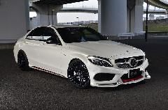 C-Class W205用 s.d.f star design factory社製 FRP Paint Aero full kit