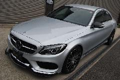 C-Class W205用 s.d.f star design factory社製 Carbon Hybrid Aero full kit