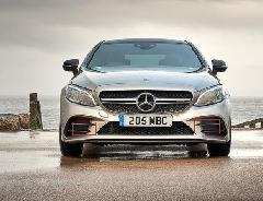 Mercedes-Benz AMG C43 フロントバンパーダクト