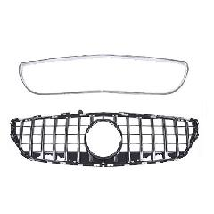 s.p.o W218 CLS-Class Panamericana grille Chrome 後期用