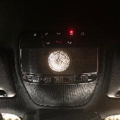 s.p.o Ambient light front roof speaker 3 color C-Class X253用