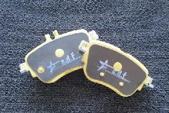 CLS C257 star design factory社製 Low dust brake pad (Rear)