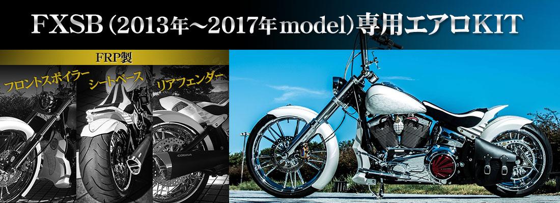 FXSB(2013年~2017年model)専用エアロKIT