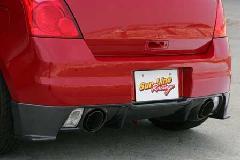 SLR Sport Aero SWIFT Sport ZC31S リアセンターディフューザーセット  [カーボン製]