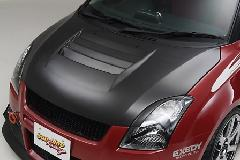 SLR GTcooling Bonnet GTクーリングボンネット カーボン製