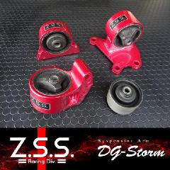 Z.S.S Dg-Storm ディジーストーム CT9A 強化エンジンマウント(6MT) 4PCS/SET