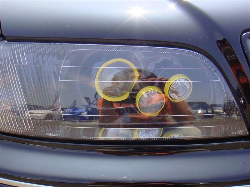 ヘッドライト加工