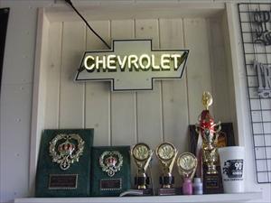 SHOW CARで獲得したトロフィー