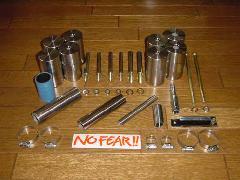 No FEAR!! 4インチボディブロックKIT