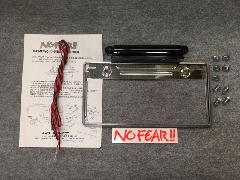 No FEAR!!リアナンバー移動KIT