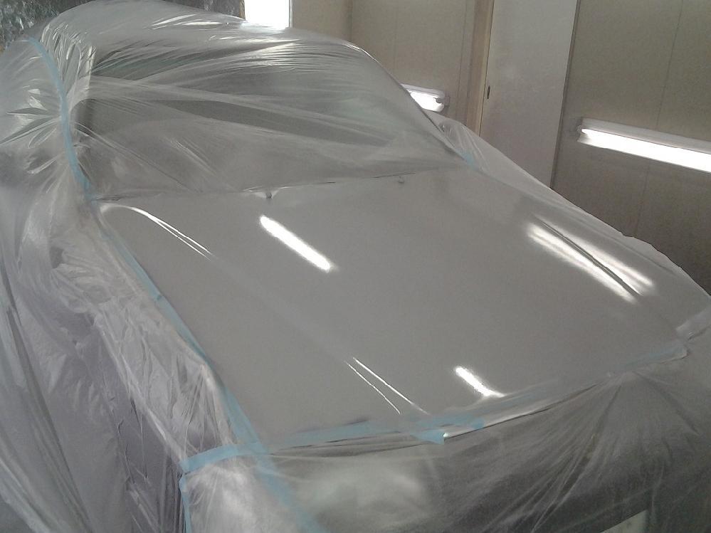 サフェーサー塗装完了