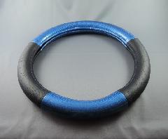 コンビカーボン&デインプル ハンドルカバー  2HS/2L 青/黒