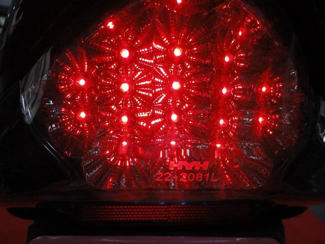 SUZUKI アドレスV125 LEDテールランプ点灯