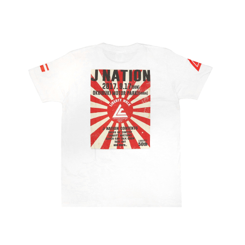 J-NATION限定Tシャツ