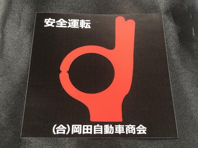 レトロスタイルOKマークステッカー大  【税抜1000円】