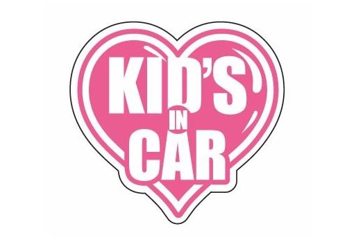 KID'S IN CAR ver.  Lサイズ【税抜700円】