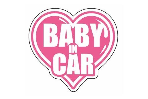 BABY IN CAR ver.  Lサイズ【税抜700円】