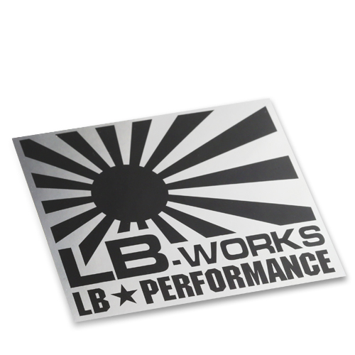 LB-WORKS small Black/Silver