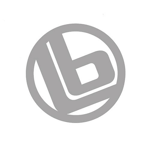 LB リング 大 ステッカー Silver