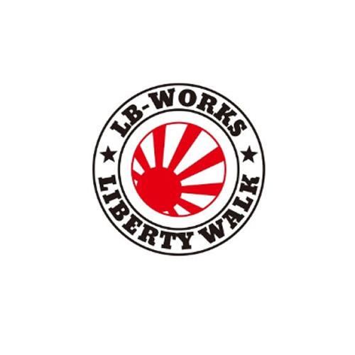 LB-WORKS 日章リングカッティングステッカー