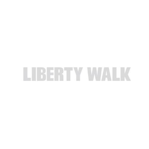 LIBERTY WALK ステッカー Silver