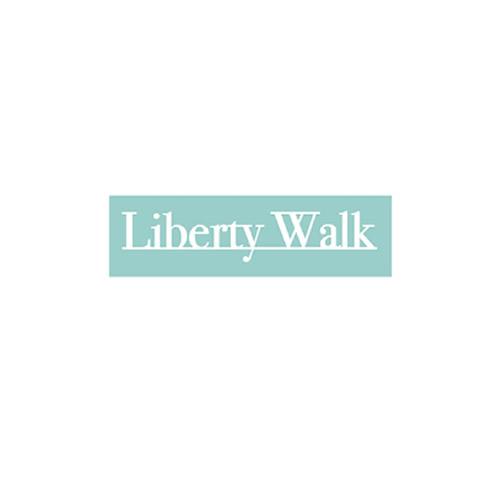 LIBERTY WALK アンダーラインロゴ 小 White