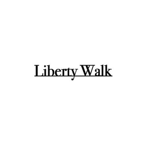 LIBERTY WALK アンダーラインロゴ 小 Black