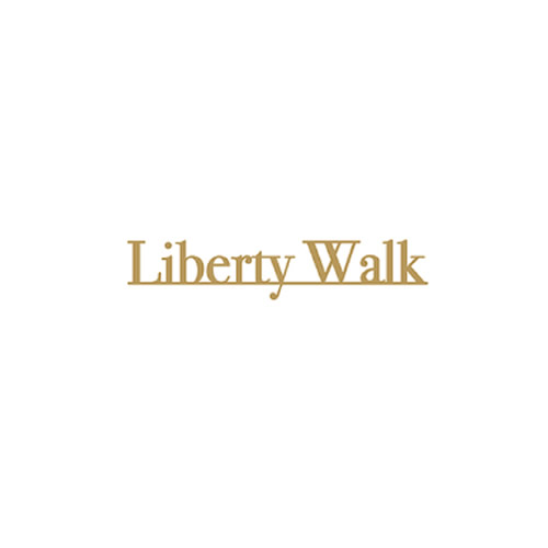 LIBERTY WALK アンダーラインロゴ 小 Gold