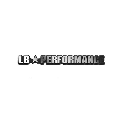 LBエンブレム LB PERFORMANCE Silver