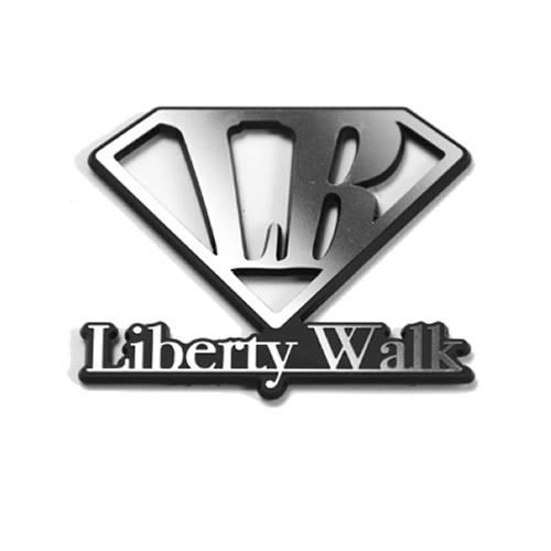 LBエンブレム Diamond LB Logo Silver