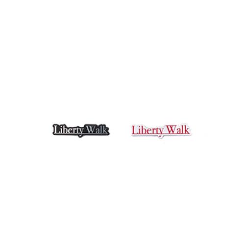 LBエンブレム LB アンダーライン Logo Silver