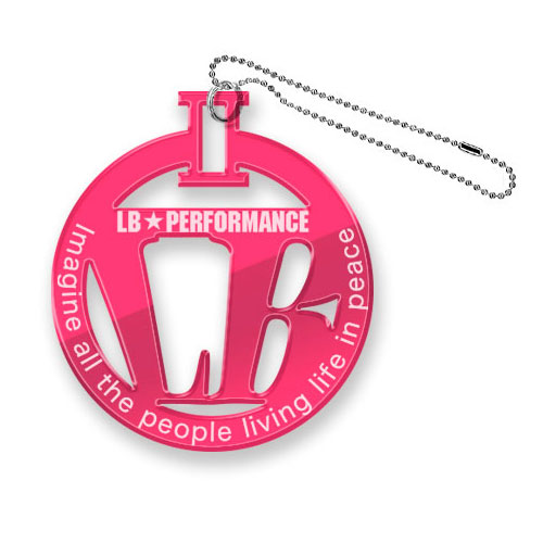 LBパーキングプレート ピンク