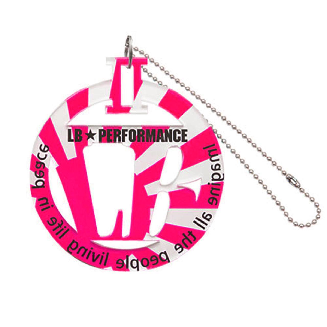 LBパーキングプレート ピンク日章
