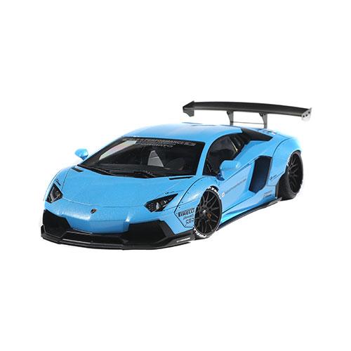 1/18 AUTO Art LB-WORKS AVENTADOR Metallic Sky Blue
