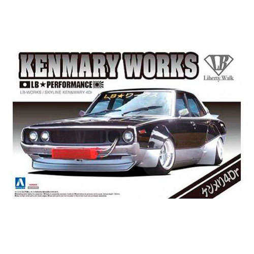 LB-WORKS プラモデル No.03 KENMARY 4dr