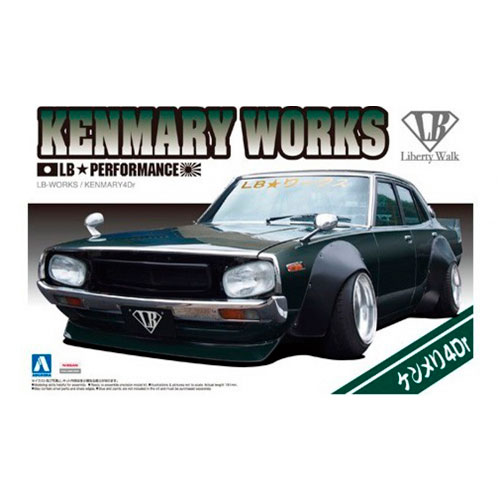 LB-WORKS プラモデル No.08 KENMARY 4dr