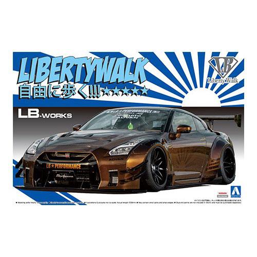 アオシマ LB★WORKS プラモデル R35 GT-R type 2
