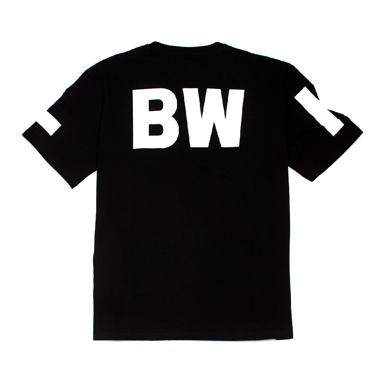 LBWK ロゴ ビッグTee Black