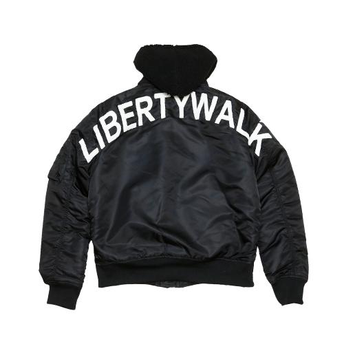 LIBERTY WALK MA-1 ブラック
