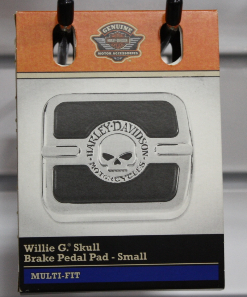 WillieG.Skull Brake Pedal Pad-Small