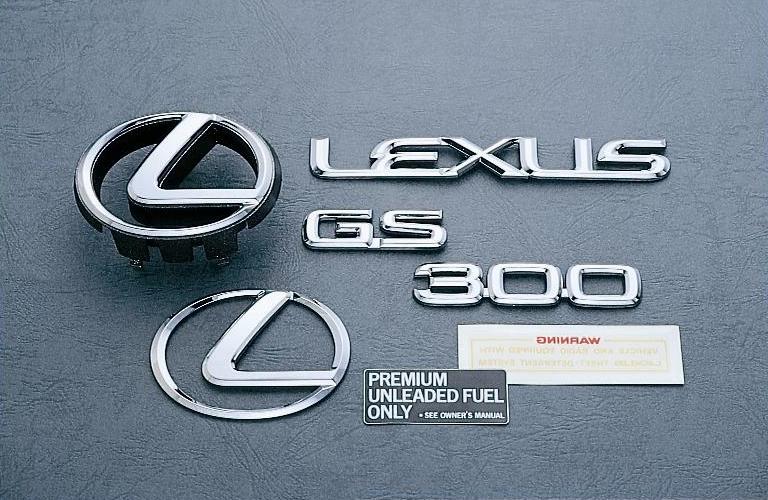 GS300/400 EMBLEM SET