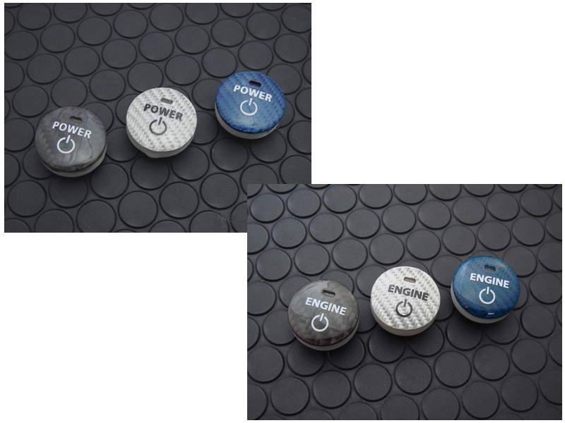 CARBON PUSH START BUTTON