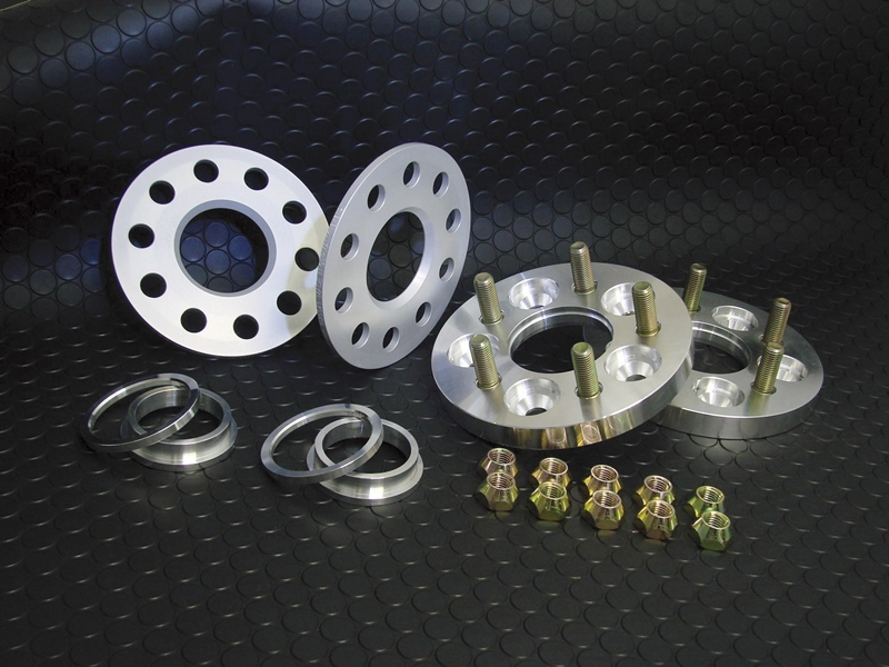 WIDE TREAD SPACER & HUB RING SET