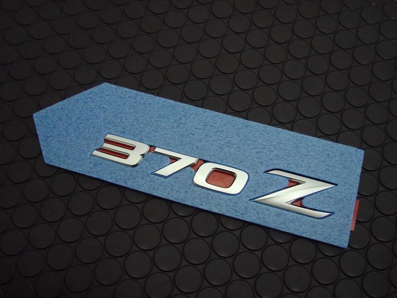 370Z REAR EMBLEM