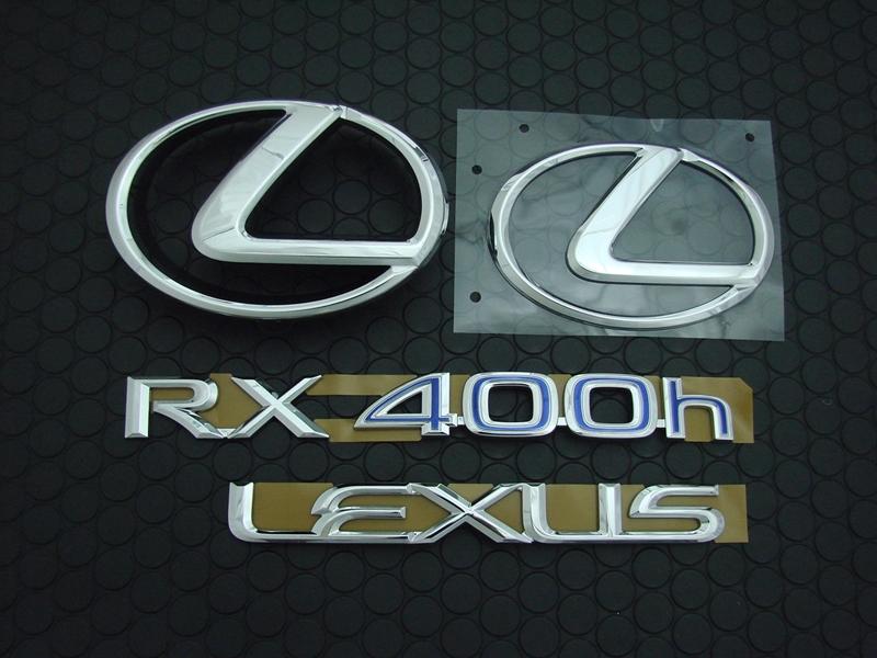 RX400h EMBLEM SET