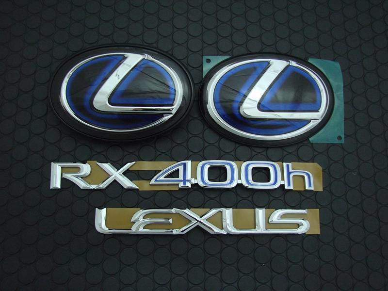 RX400h '08model EMBLEM SET
