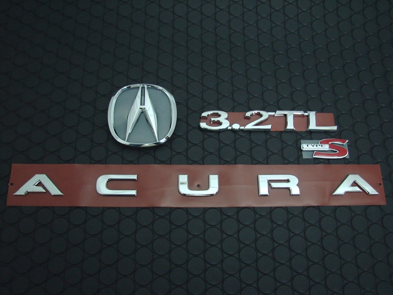 3.2TL TYPE-S REAR EMBLEM SET