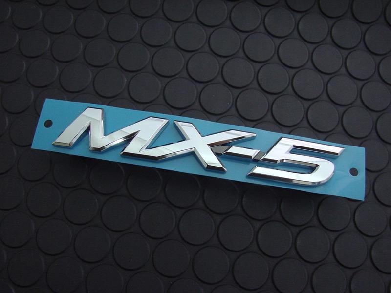 MX-5 REAR EMBLEM