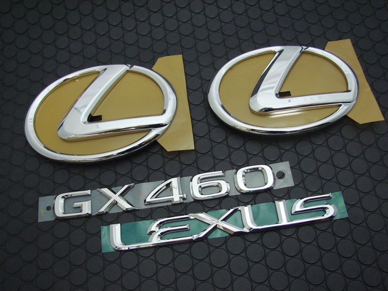 GX460 EMBLEM SET