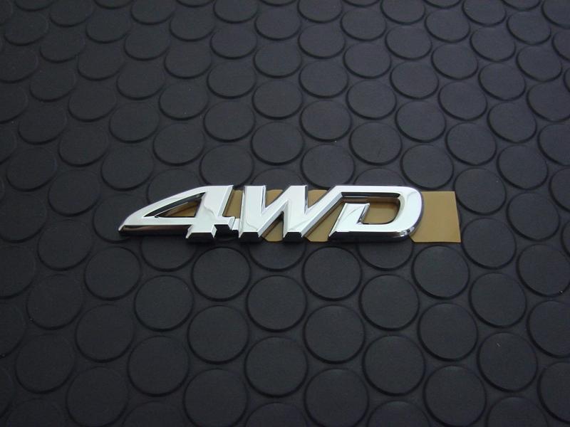 REAR 4WD EMBLEM(単品)